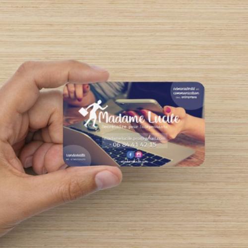 cartes de visite personnalisées